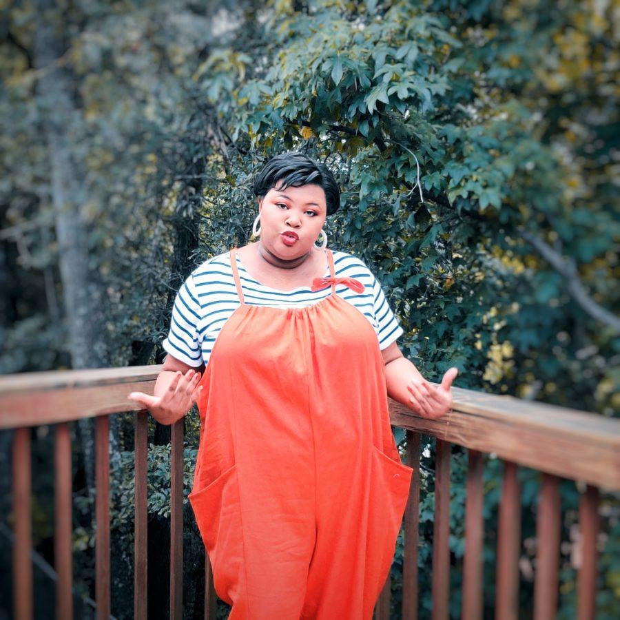 Orange Patsy Overalls